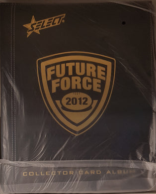 2012 Select AFL Future Force Collector Card Album