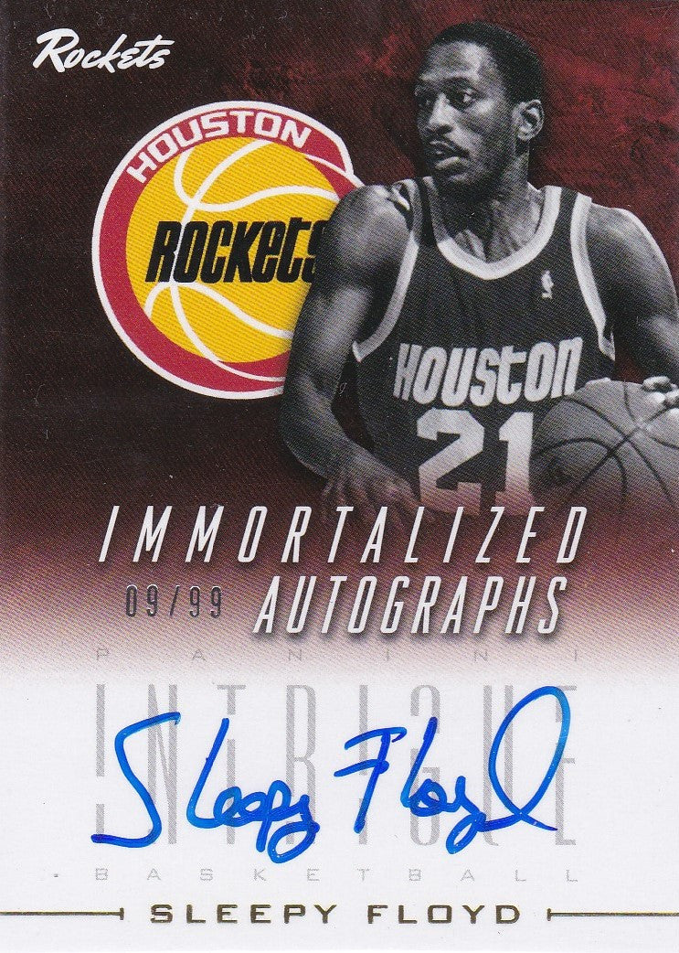 Sleepy Floyd, Immortalized Autographs, 2013-14 Panini Intrigue