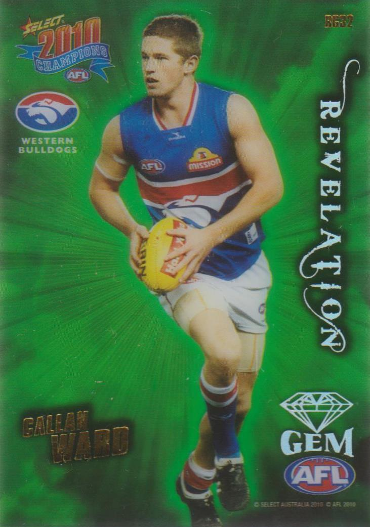 Callan Ward, Revelation Gem, 2010 Select AFL Champions