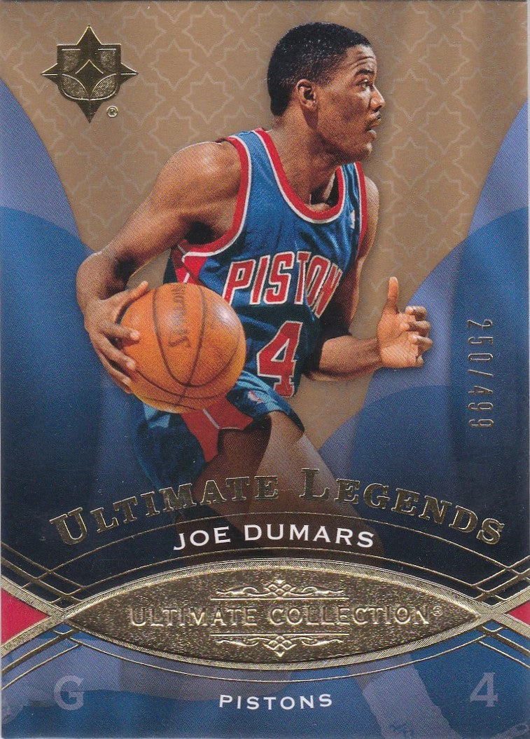 Joe Dumars, Ultimate Legends, 2008-09 UD Ultimate Collection