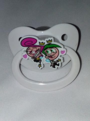 2000's Cartoon Fairys Lil One Deluxe Custom Pacifier cp2121