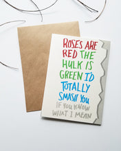 Hulk Greeting Card