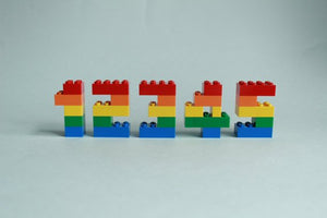 Number Cake Topper, Built with Toy Bricks, Birthday Cake Decoration, Numerals, Birthday Party, Brick Decor, Kids AGE