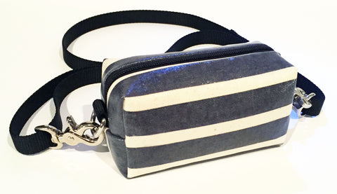 Navy stripe Doggy Ditty