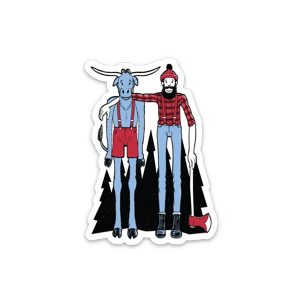 Paul + Babe - Sticker - Northmade Co