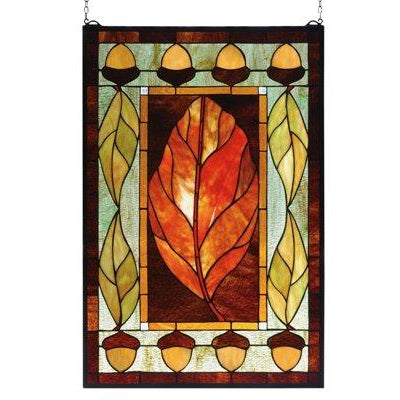 Harvest Festival Stained Glass Window- Free Shipping