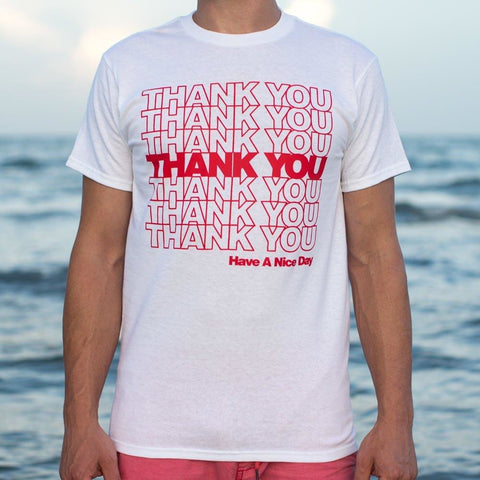 Mens Thank You Bag T-Shirt