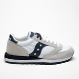 SAUCONY JAZZ ORIGINALS WHITE/BLU - Sneaker Pumps