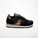 SAUCONY JAZZ ORIGINALS BLACK/GOLD - Sneaker Pumps