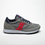 SAUCONY JAZZ ORIGINALS GREY/RED/BLU - Sneaker Pumps