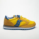 SAUCONY JAZZ ORIGINALS YELLOW/BLU - Sneaker Pumps