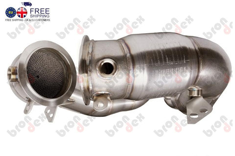 BMW m6 downpipes with 200 cell CATALYTIC CONVERTER 2013- (Ready For Installation)