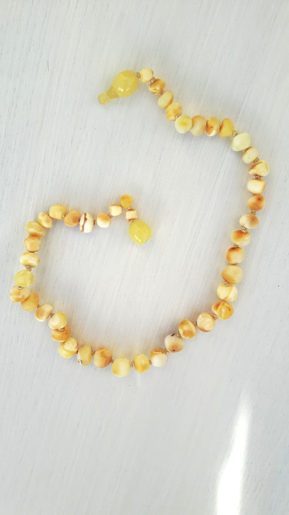 Milky Amber Necklace