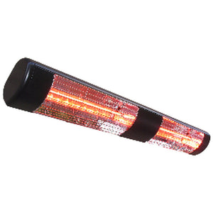 Commercial Wall Mount Electric Patio Heater-Black SUNHEAT WL-30B - Fireplace Features