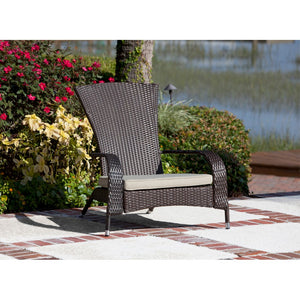 PATIO SENSE Coconino Wicker Chair - Fireplace Features