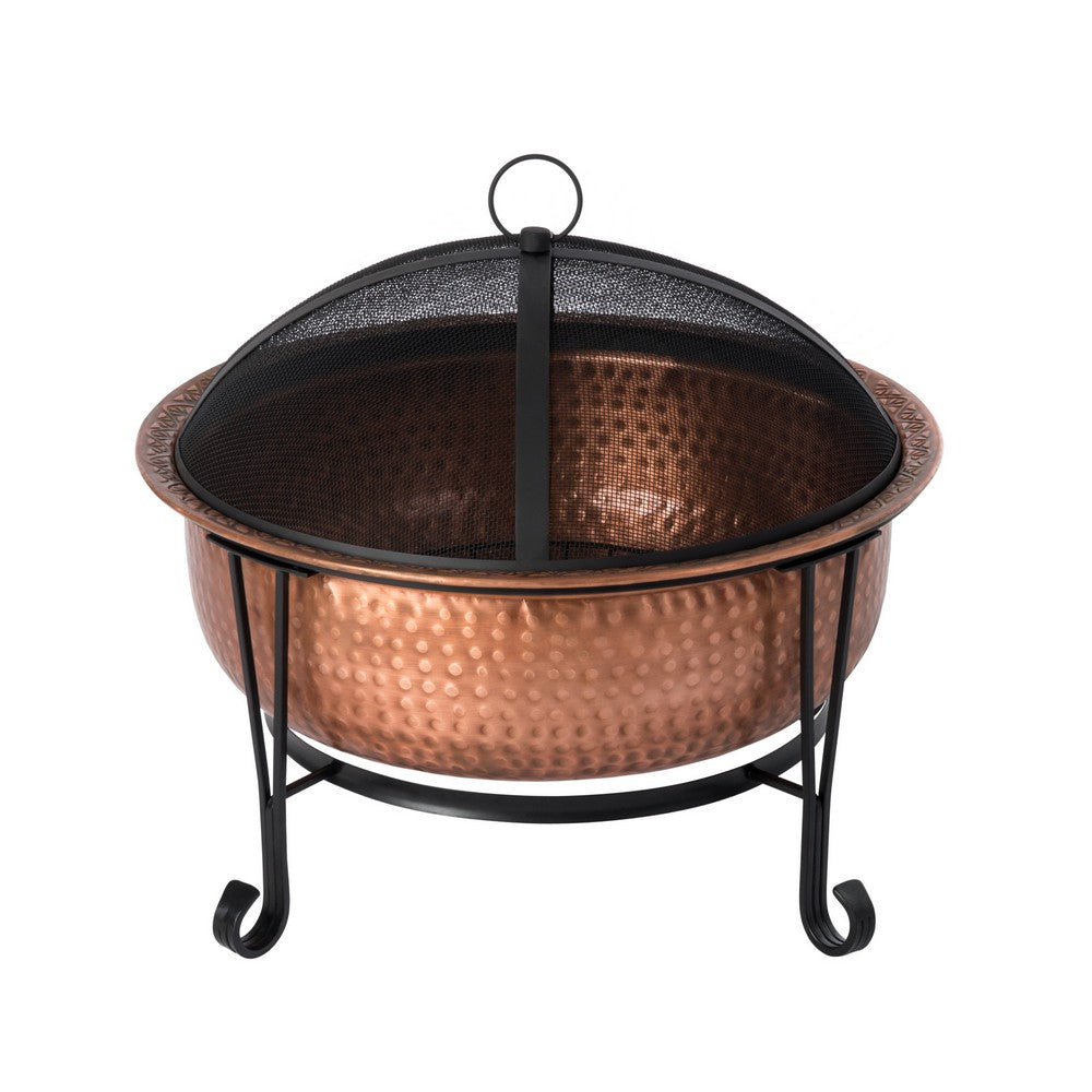 FIRE SENSE  Palermo Copper Fire Pit - Fireplace Features