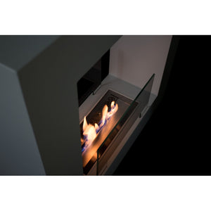 "BIO-BLAZE QUBE (SMALL) 31½"" Freestanding Ethanol Fireplace - Fireplace Features"