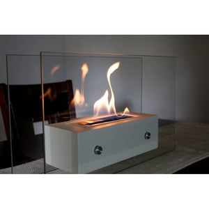 "BIO-BLAZE VALETTA 19½"" Tabletop Ethanol Fireplace - Fireplace Features"