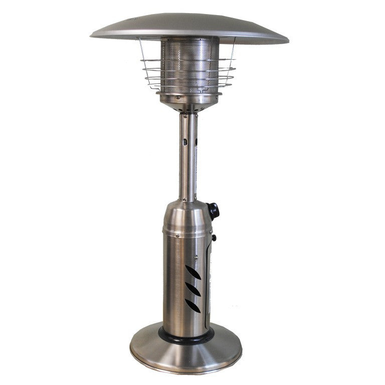 Round Design Tabletop Patio Heater  Stainless Steel SUNHEAT PHRDSS-TT - Fireplace Features