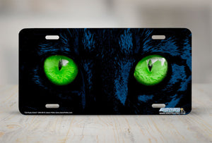 "Airstrike® 248-GN-""Cat Eyes Green"" Cat Eyes License Plate"