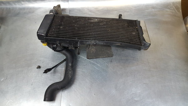 tweaked radiator 2g sv650 03 specific