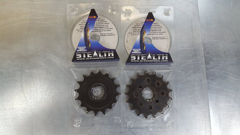 #1180-17T Front Sprocket - Triumph 1000, 1050, 1200, 750, 900  - Hardened Steel