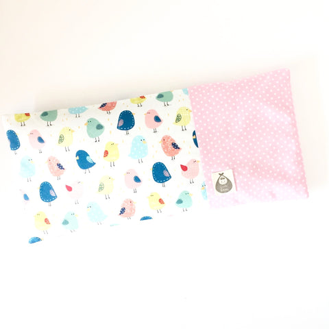 Chickee Little One Baby Beansprout Husk Pillow - Pink - Quirki Babies