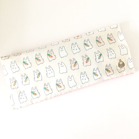 Little Bunnies Baby Beansprout Husk Pillow - Quirki Babies