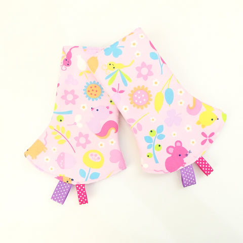 Enchanted Forest Corner Drool Pads - Quirki Babies