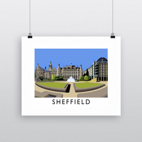 Sheffield, Yorkshire 11x14 Print