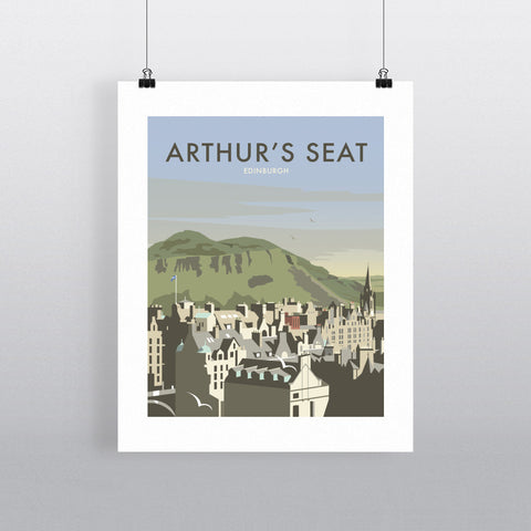 "THOMPSON264: Arthur's Seat, Edinburgh 24"" x 32"" Matte Mounted Print"