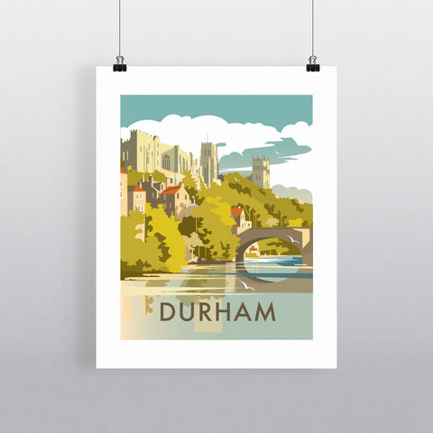 "THOMPSON482: Durham 24"" x 32"" Matte Mounted Print"