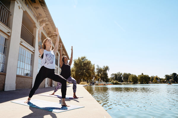 Behind the Scenes: Yoga Photoshoot at Denver's Historic Boathouse