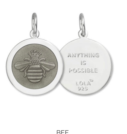 LOLA- Love One, Love All!  Pendant Charms-Chains Sold Seperately on our site