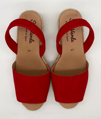 Alicante wedge-Red Fire