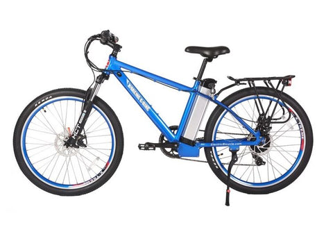 Blue X-Treme Trail Maker - Electric Mountain Bike - Side View