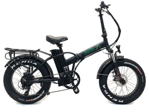 Green Bike USA GB1 Fat Tire - Folding Electric Bike