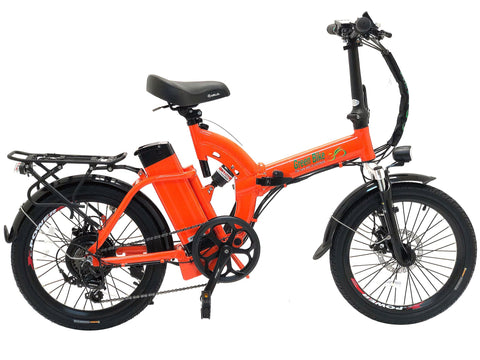 Green Bike USA GB5 - Folding Electric Bike
