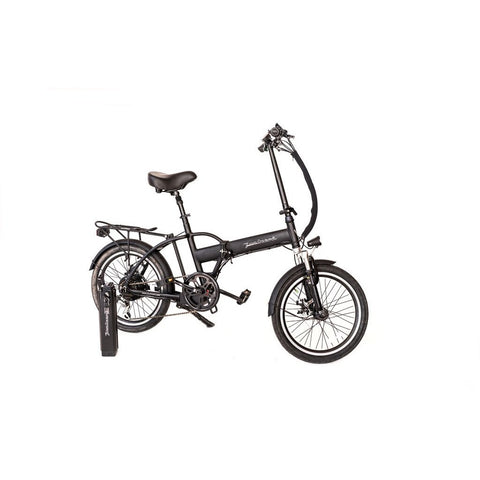 Black Joulvert Playa Journey - Folding Electric Bike - Side View