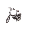 Image of Black Joulvert Playa Journey - Folding Electric Bike - Front View