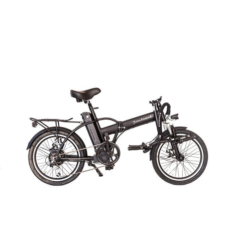 Joulvert Playa Journey - Folding Electric Bike - Folded Handlebars