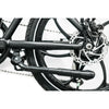 Image of Joulvert Stealth - Folding Electric Bike - Rear Wheel and gears