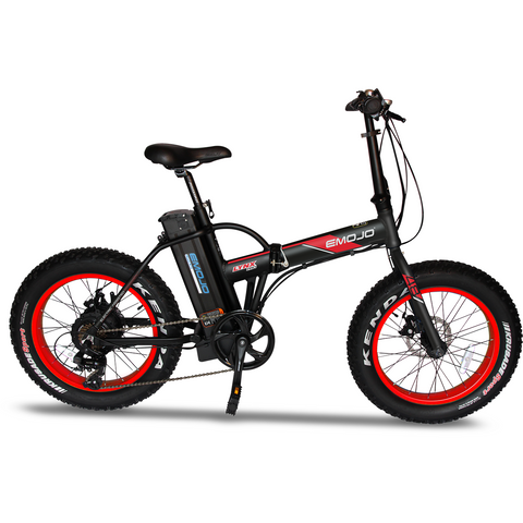 EMOJO Lynx Pro - Fat Tire Folding Electric Bike -