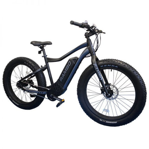 Rambo 750W G4 - Fat Tire Electric Mountain Bike