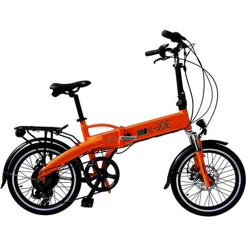 Orange e-Joe EPIK SE - Folding Electric Bike - Side View