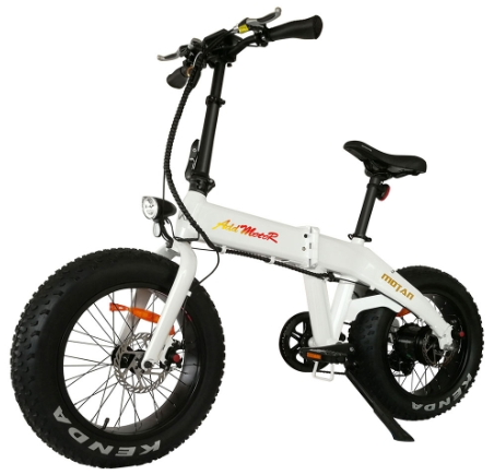 AddMotor Motan M160 - Folding Fat Tire Electric Bike
