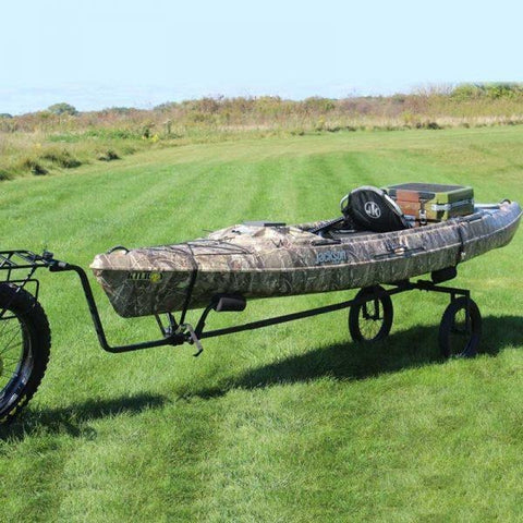 Rambo Bikes - Kayak/Canoe Trailer - Attached in a field