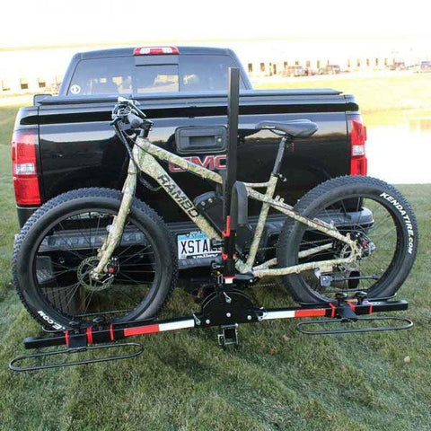 Rambo Bikes - Fat Bike Hauler - Attached to truck