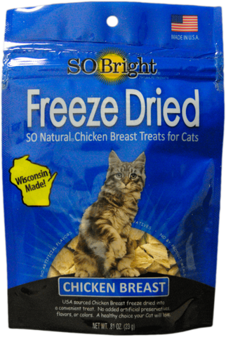 SO Bright Chicken Freeze Dried Cat Treat