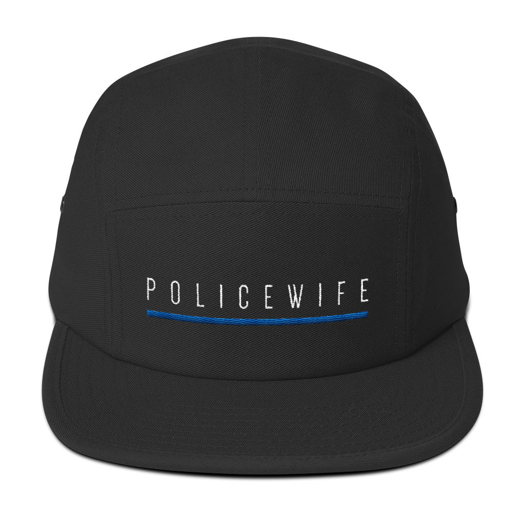 BLUE SAVES / POLICE WIFE / Five Panel Cap